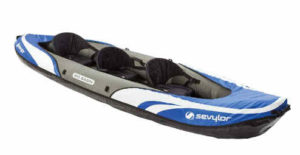 Sevylor Big Basin 3-Person Kayak - best fishing kayak for beginner