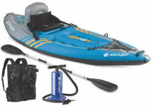 Sevylor Quikpak K1 1-Person Kayak -best fishing kayak