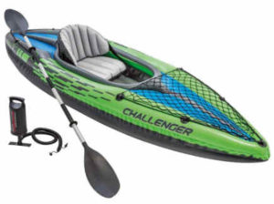 1 intex challenger k1 kayak- best fishing kayak
