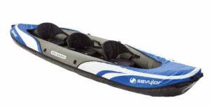 Sevylor Big Basin 3-Person Kayak - best fishing kayak for beginner