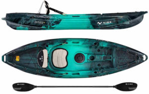 Vibe Kayaks Skipjack 90 (8 t0 9 Foot Angler and Recreational Sit On Top Light Weight Fishing Kayak)