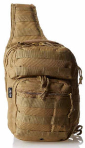 Mil-Tec Single strap 10L plan of action Assault Backpack