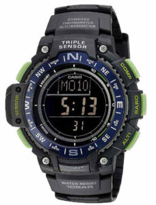 Casio Men's SGW-1000-2BCF- best cheap outdoor watch for the money