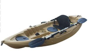 BKC UH FK184 Sit on Top Single Fishing Kayak review