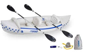 Sea Eagle 330 Inflatable Kayak with Deluxe Package review