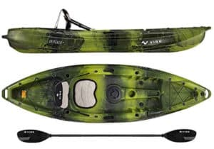 Vibe Kayak Skipjack 90 9-Foot Angler Sit on Top Fishing Kayak