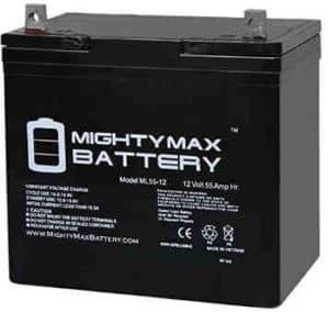 Power Boat Pontoon Electric Trolling Motor Deep Cycle Battery