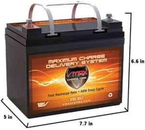 VMAXTANKS Vmax857 Battery