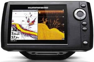 Humminbird 410210-1 HELIX 5 CHIRP GPS G2- best Fishfinder under 300