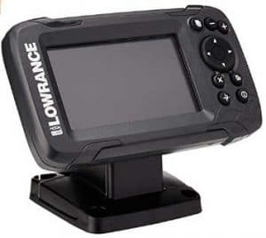Lowrance Hook-4 Sonar Downscan Fishfinder - cheap fish finder under 300