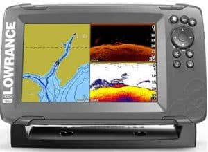 lowrance hook2 7 splitshot review - best foe kayak